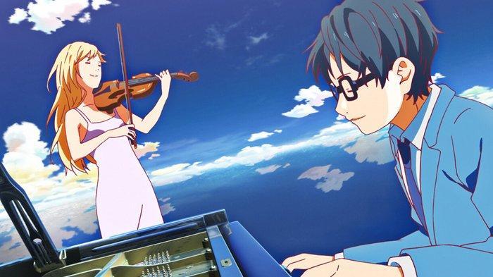 Your Lie in April, salah satu anime romantis terbaik sepanjang masa.