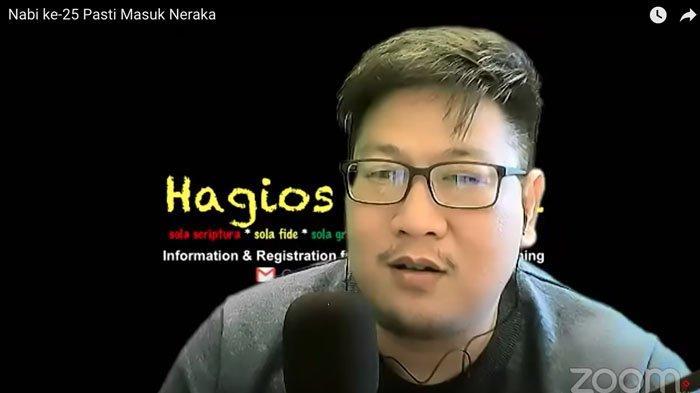 YouTuber Joseph Paul Zhang sebut dirinya sebagai Nabi ke-26.