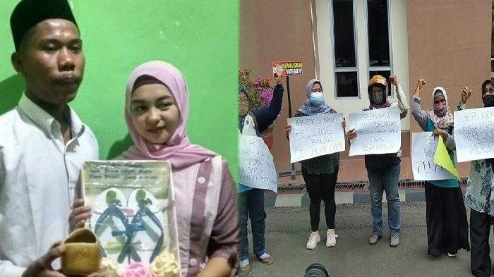 Yudi Anggata yang dulu viral nikah dengan mas kawin sandal jepit kini dilaporkan ke polisi