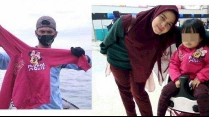 Yumna bersama ibunya Ratih Windania, menjadi korban Sriwijaya Air SJ 182