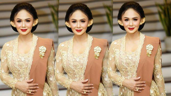 Yuni Shara di pernikahan Atta-Aurel