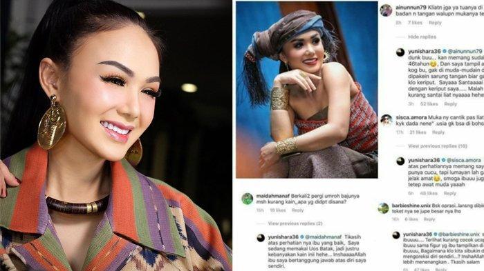 Balas nyinyiran pedas netizen dengan bijak, Yuni Shara jadi trending topic di Twitter