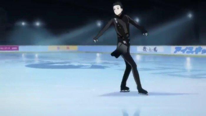 Yuri On Ice salah satu anime olahraga yang populer