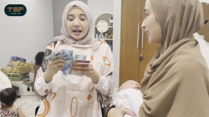 THR Shireen Sungkar untuk Baby Ukkasya Disorot, Lampaui Pemberian Raffi Ahmad, Zaskia: Wah Tebel Ya