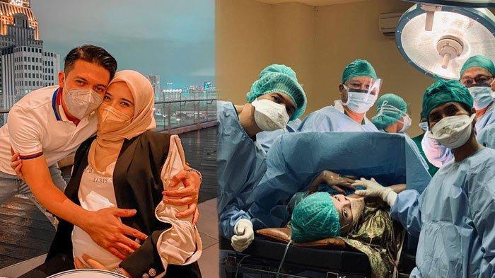 Zaskia Sungkar melahirkan anak pertama