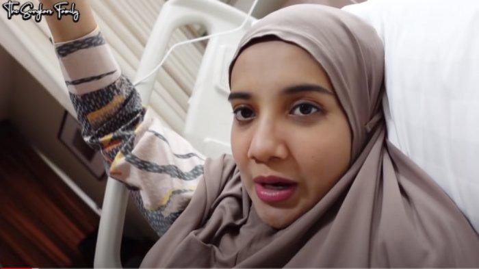 Zaskia Sungkar ungkap dirinya harus dirawat di RS saat hamil 8 bulan