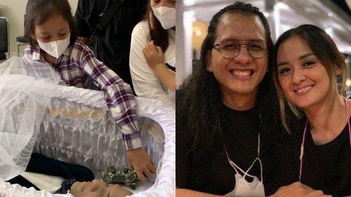 PILU Lepas Kepergian Raditya Oloan, Anak Joanna Alexandra Letakkan Hadiah Terakhir di Peti Sang Ayah
