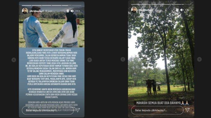 Zikri Daulay bahas soal perceraian dengan Henny Rahman
