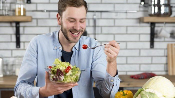 Ilustrasi pola makan sehat.