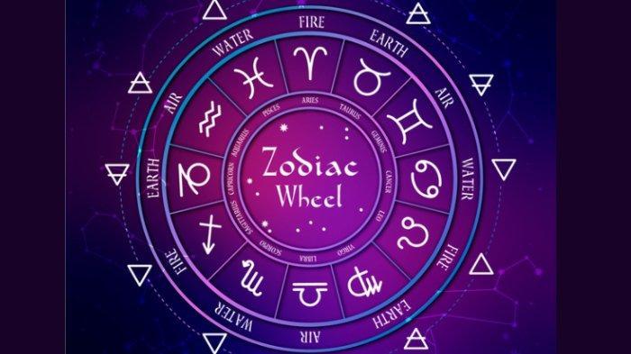 Ilustrasi ramalan zodiak