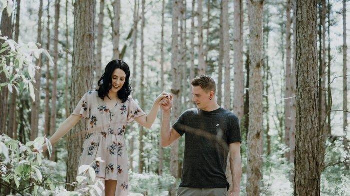 Ilustrasi pasangan kekasih.