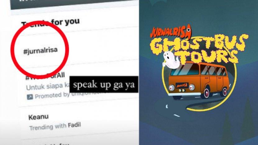 Acara Ghost Bus Tours Ditunda Tagar Jurnalrisa Trending Di Twitter Keanu Fadil Jaidi Buka Suara Tribunstyle Com