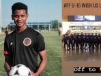 Amirulash - Usai Pasang Bendera Indonesia Terbalik, Pemain Malaysia U-16 Ini Minta Maaf
