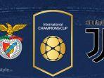 Live Streaming TVRI Benfica vs Juventus - Laga International Champions Cup 2018