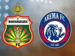 SEDANG BERLANGSUNG - Live Streaming tvOne Arema FC Vs Bhayangkara FC Kick Off Jam 15.30 WIB