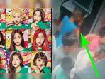 Terpantau CCTV, Para Bocah Ini Ketahuan Nonton & Joget Video K-Pop Momoland, Perhatikan Baju Biru