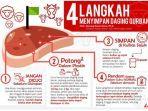 Idul Adha 2019 - Tak Perlu Dicuci, Begini Cara Menyimpan Daging Kurban Agar Awet di Kulkas