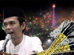 Begini Pendapat Tegas Ustaz Abdul Somad Terkait Tradisi Tiup Terompet di Malam Tahun Baru! Haram?