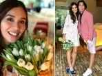 Support Sang Istri, Vino G Bastian Bawakan Bunga Cantik Untuk Marsha Timothy, Romantisnya!
