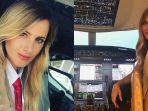 Dari Tukang Cukur Kini Jadi Pilot Profesional, Gaya Hidup Wanita Ini Viral dan Jadi Sensasi