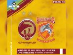 Live Streaming O Channel: Sriwijaya FC vs Borneo 15.30 WIB - Kandang Rasa Tandang