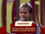 Waode Sofia, Peserta Audisi KDI 2018 yang Diusir Juri Akhirnya Angkat Bicara, Ini Penjelasannya