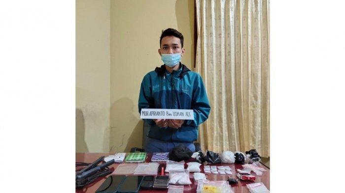 Polda Sultra Tangkap Pengedar Narkoba asal Konawe di Konsel, 268 Gram Sabu-sabu Diamankan