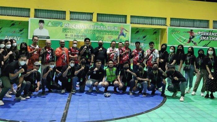 Tutup Turnamen Futsal, Andi Ady Aksar: ASR dan Gerindra Terus Suport Milenial