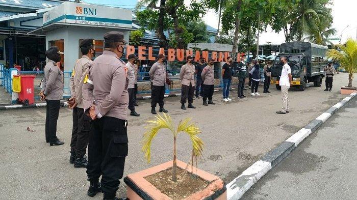 Patroli Aksi Premanisme, Polres Baubau Amankan 3 Warga Diduga Tukang Parkir Liar
