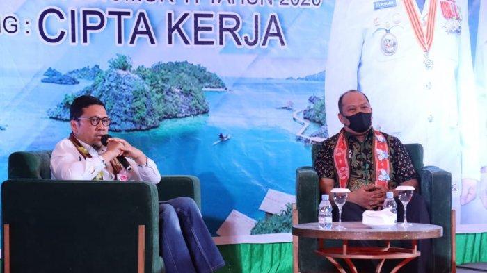 Sosialisasi UU Cipta Kerja Pemkab Konut, Ruksamin Jadi Moderator, Ketua Komisi II DPR RI Pembicara