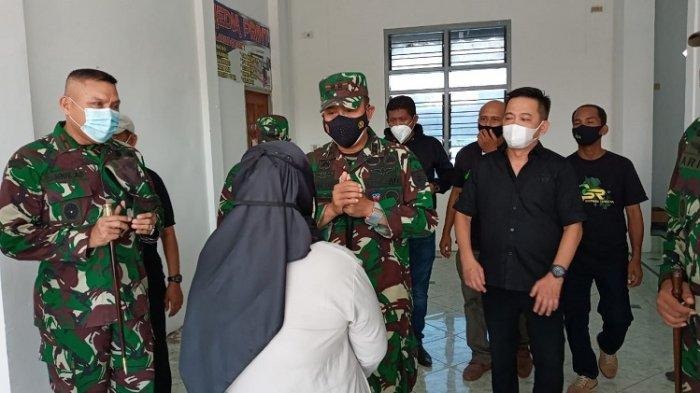 Bertemu Pangdam Hasanuddin, Ini Ucapan Istri Anggota TNI yang Tewas Dibacok Preman