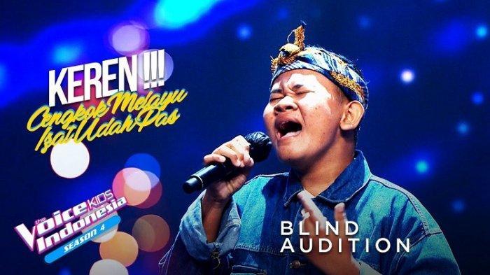 Dukung Izat The Voice Kids Indonesia Malam Ini, Remaja Baubau Sulawesi Tenggara Tampilkan Terbaik