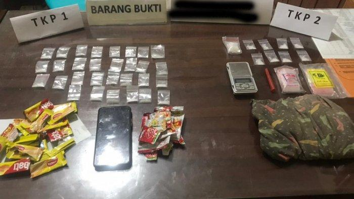 Diciduk Polisi, Pengedar Narkoba di Kendari Sembunyikan Sabu di Kantor