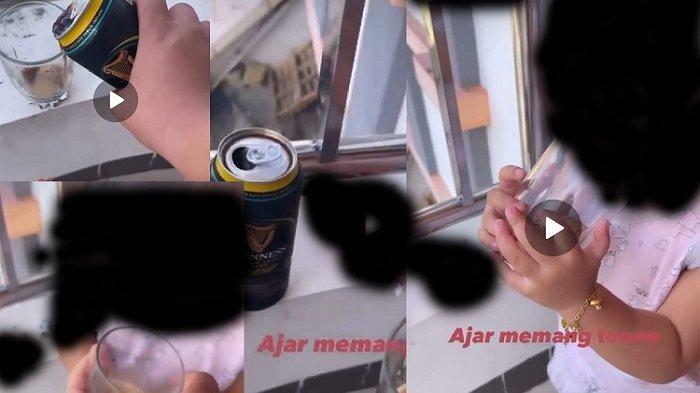 Heboh! Video Kakak Ajari Adik Perempuan Nge-Miras, Pelaku Remaja di Baubau Kini Nyesal & Minta Maaf