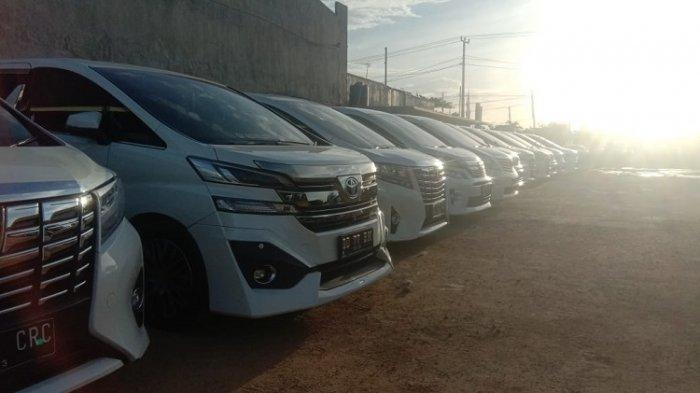 Ratusan Mobil Disiapkan untuk Munas Kadin di Kendari, Toyota Alphard Vellfire 2017 Buat Tamu VIP