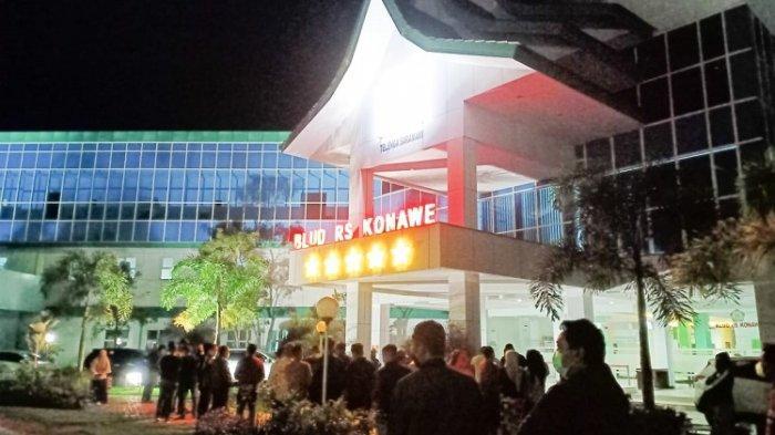 Wakil Bupati Konawe Gusli Topan Sabara Meninggal Dunia, Kerabat Histeris, Berdatangan ke Rumah Sakit