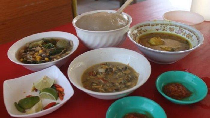 Sinonggi merupakan salah satu makanan khas dari Sulawesi Tenggara, hidangandari suku Tolaki.
