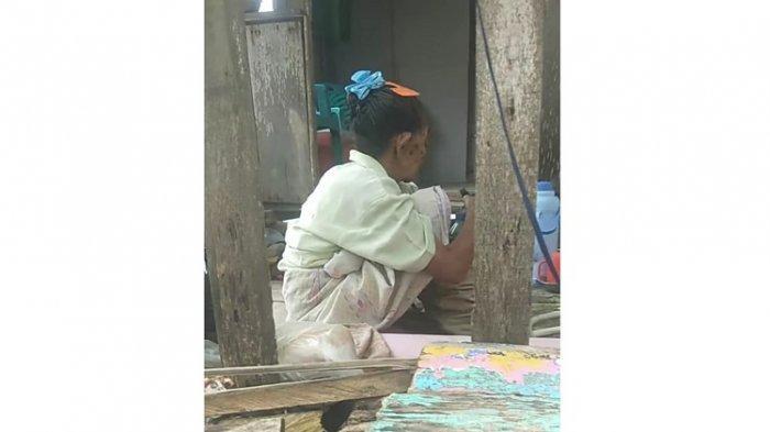 Kisah Viral di Facebook, Seorang Nenek di Buteng Diusir Oleh Anak Kandungnya