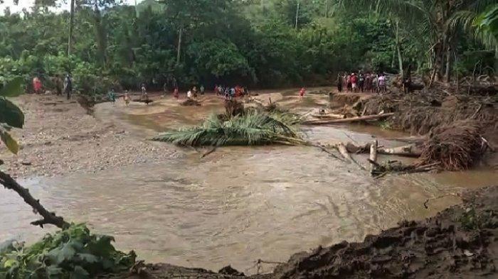 Petani Terseret Arus Sungai di Bombana Ditemukan Tewas Tertimbun Pasir