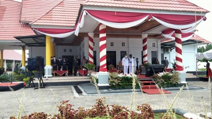 Dipimpin Wali Kota Sulkarnain Kadir, Upacara HUT ke-190 Kota Kendari dengan Protokol Covid-19