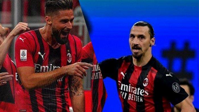 Penyerang AC Milan Merumput Pekan Depan, Oliver Giroud Tak Sabar Duet Bareng Zlatan Ibrahimovic