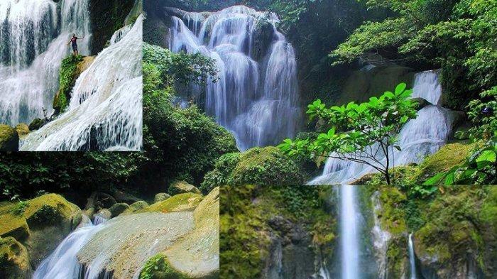 Air Terjun Samparona Baubau, Keindahan di Balik Hutan Pinus Kepulauan Buton Sulawesi Tenggara
