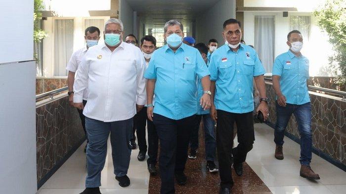 Ali Mazi Singgung Diksi Kolaborasi Partai Gelora, Pamer Tiga Mega Proyek di Depan Fahri Hamzah