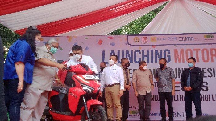 Motor Listrik Gesits Resmi Diluncurkan, PT WIMA Ungkap Alasan Sultra Jadi Daerah Peluncuran Perdana