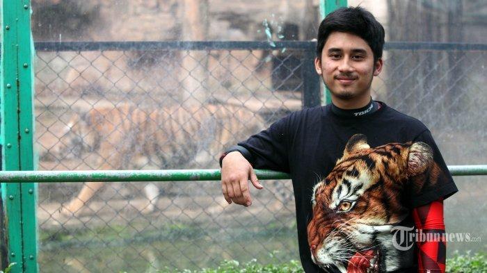 Cerita Alshad Ahmad Pelihara Harimau di Rumah, Ungkap Keinginan Bangun Kebun Binatang