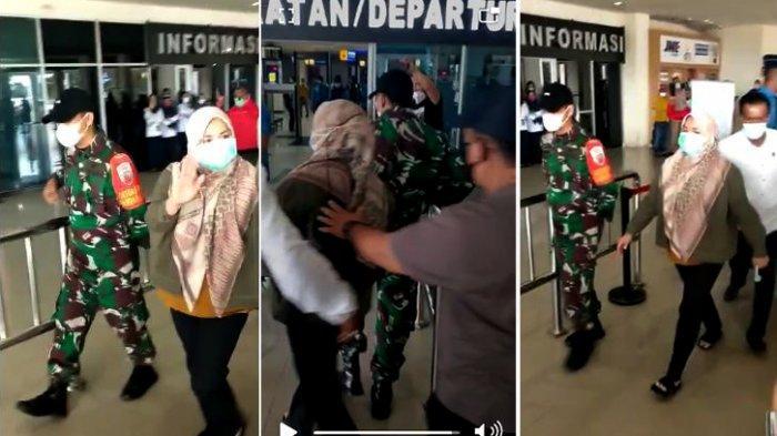 VIDEO Bupati Andi Merya Nur Diseret KPK, Lambaikan Tangan saat di Bandara Haluoleo Kendari
