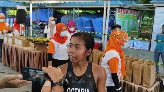 Peserta Putri yang Finish Pertama di Kendari Triathlon 2021, Ini Catatan Waktu Nethavani Octaria