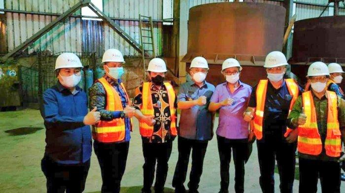 Komisi VII DPR RI Kunjungi PT OSS di Morosi Kabupaten Konawe, Lihat Proses Produksi Stainless Steel