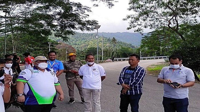 Latihan Ujicoba 2 Pembalap PON Papua di Kolaka Utara Disaksikan Ketua IMI Sultra, Diapresiasi Bupati