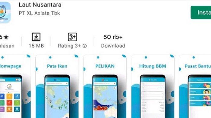 KKP Gandeng XL Axiata Kembangkan Aplikasi Laut Nusantara, Bantu Nelayan Tangkap Ikan